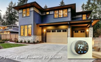 How to Control Your Vacation Home Thermostat Via Internet