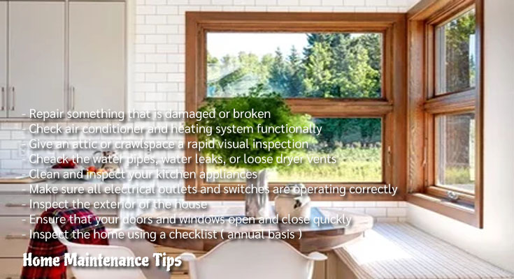 10 Important Home Maintenance Tips - Expert Suggestions For Homeowners