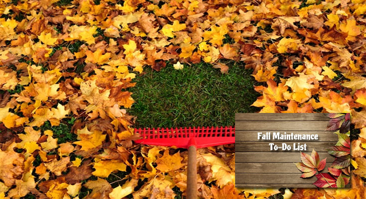 Fall Maintenance To-Do List for the Dwelling
