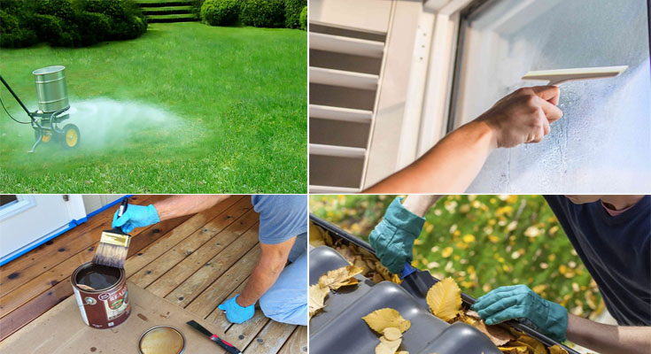 10 Must-Do Household Maintenance Tasks for Fall